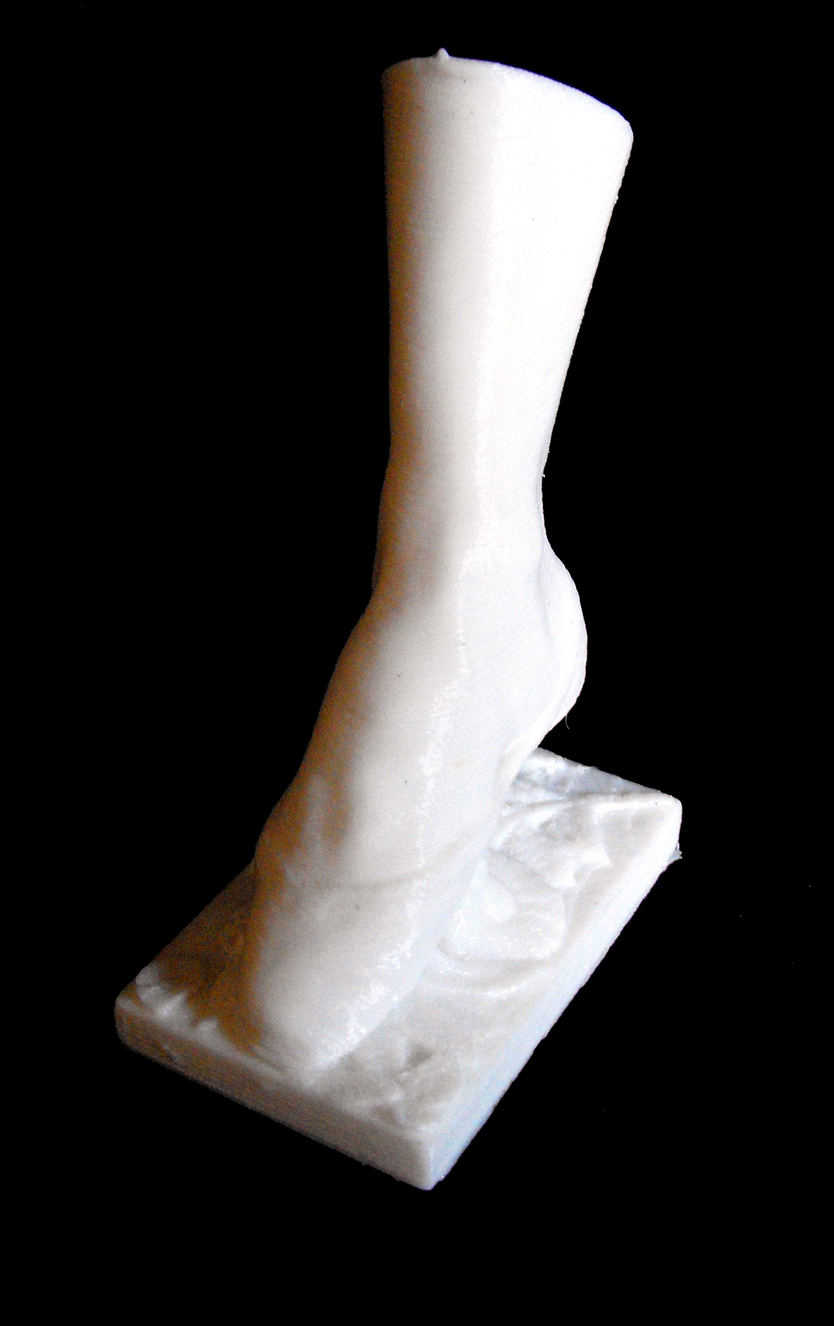 Right Foot of the Dancer Fanny Elssler at The Musée d'Orsay, Paris