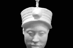 Head of a Yoruba King at The London Docklands, London