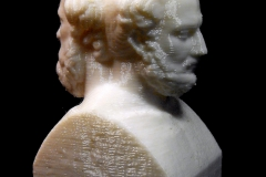 Double Herm with Thucydides and Herodotus at the Institut für Klassische Archäologie, Vienna