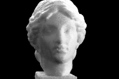 Head of a Goddess at The State Hermitage Museum, St Petersburg