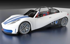Local Motors says its 3D-printed ReLoad Swim and ReLoad Sport will be a 'neighborhood electric car' capable of reaching 35 MPH.